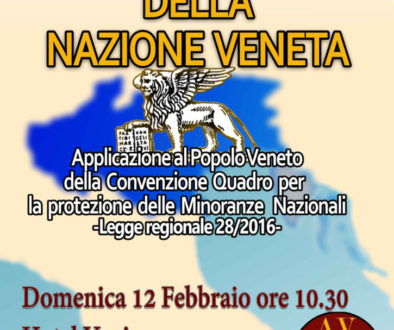Presentazione dei diritti del Popolo Veneto